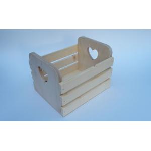 Реечный ящик малый с сердечком